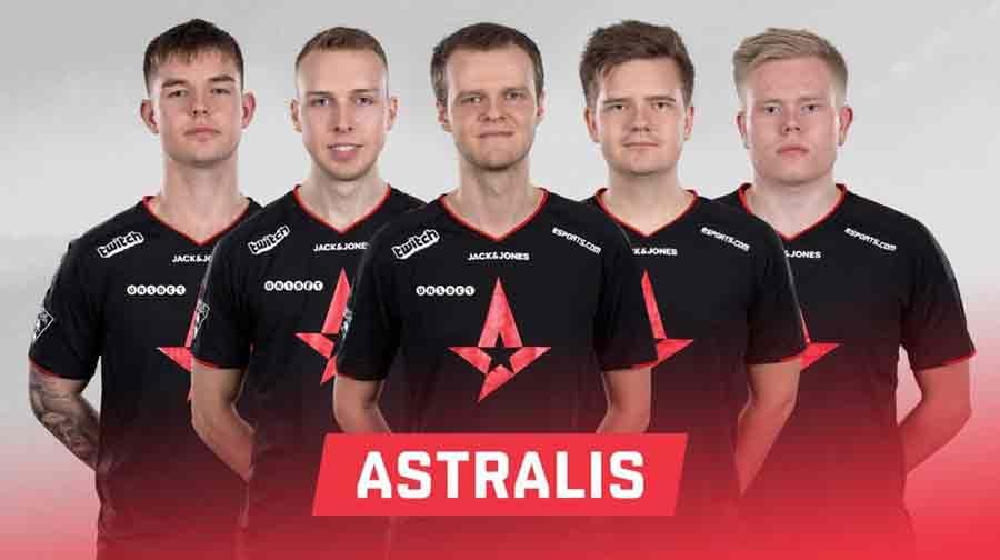 CSGO astralis équipe bourse