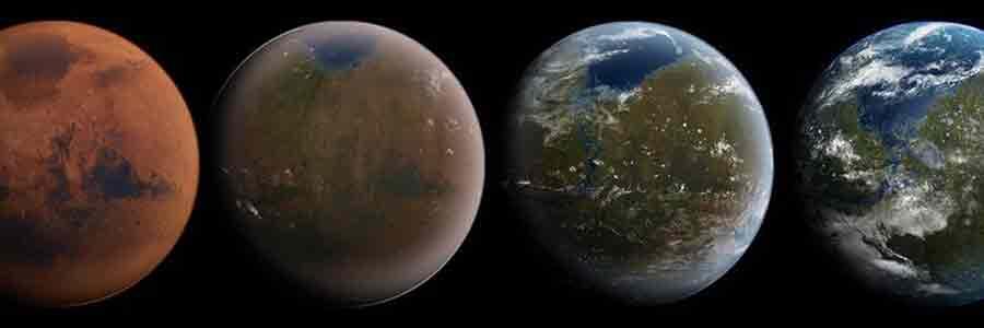Mars eau Terre