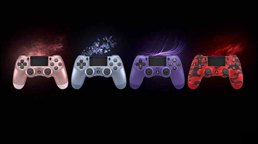 DualShock 4 PlayStation couleurs