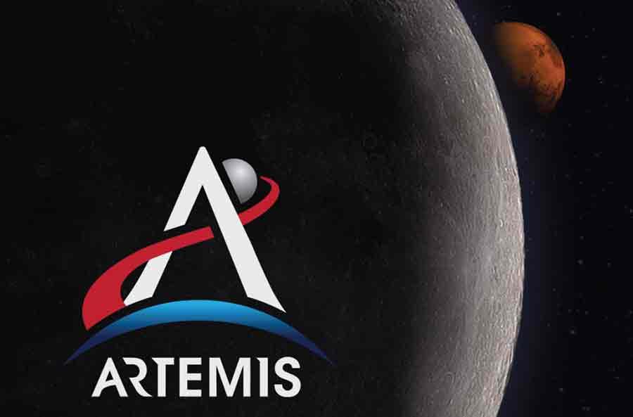 artemis lune mars