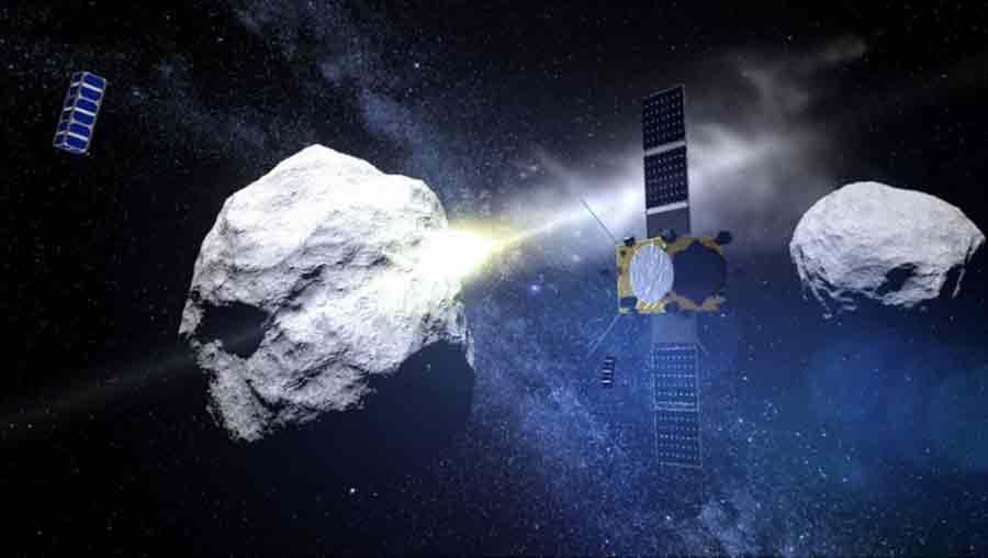 astéroïde satellite