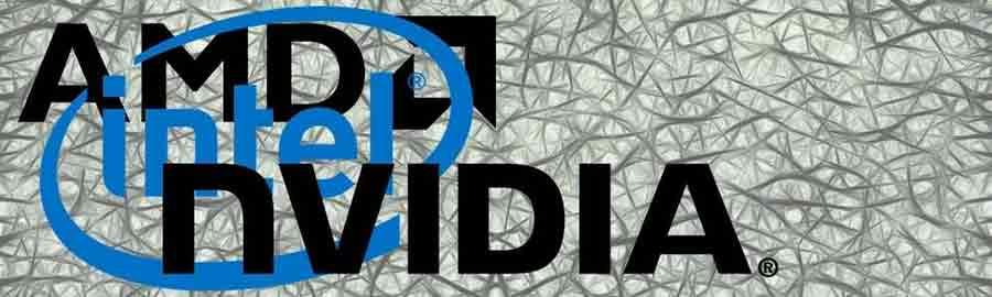 AMD Nvidia Intel