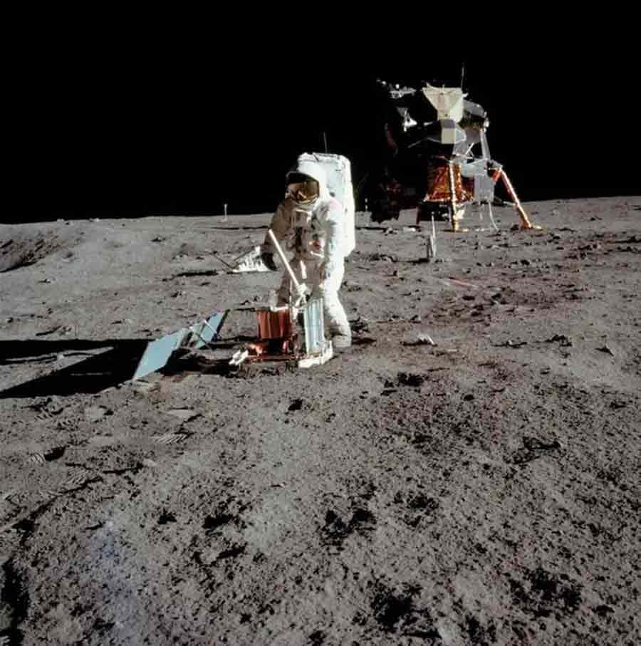 Buzz Aldrin Lune