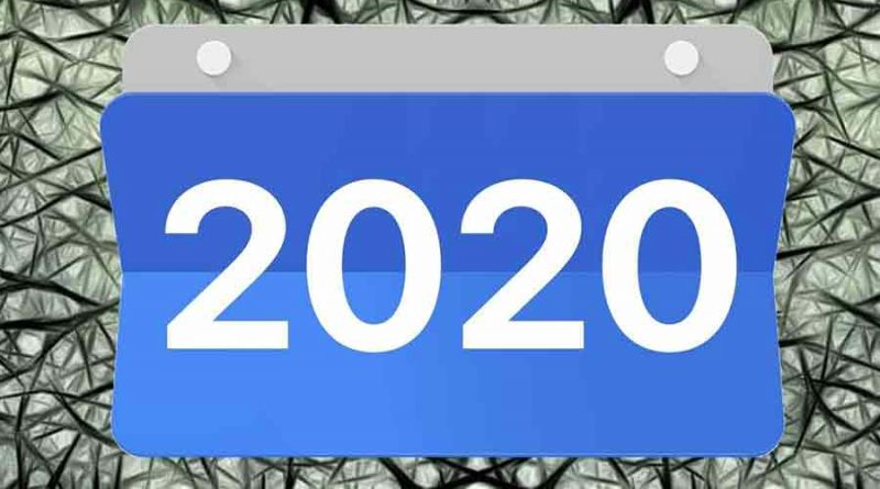 Calendrier innovations 2020