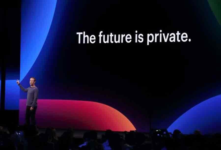 Mark Zuckerberg discours vie privée