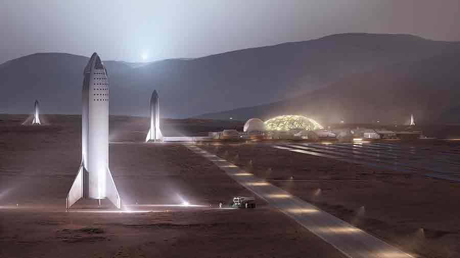 Mars lanceur