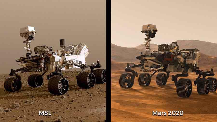 Rover Curiosity Marq
