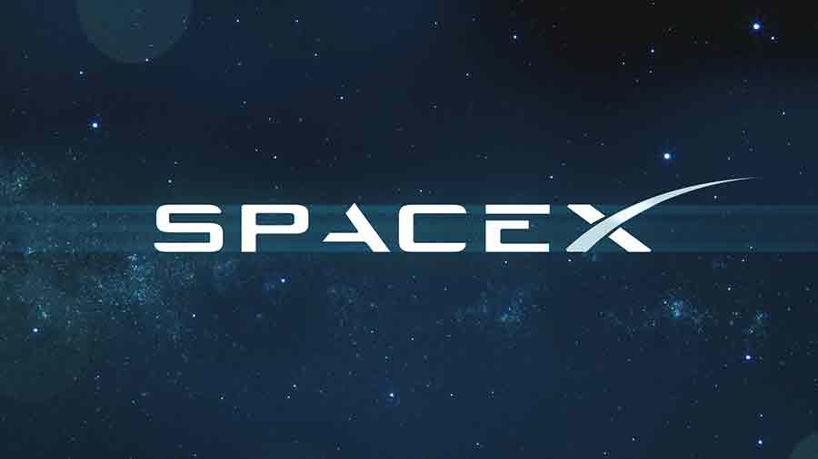 SpaceX logo 2020