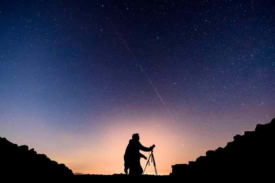 astrophotographie starlink