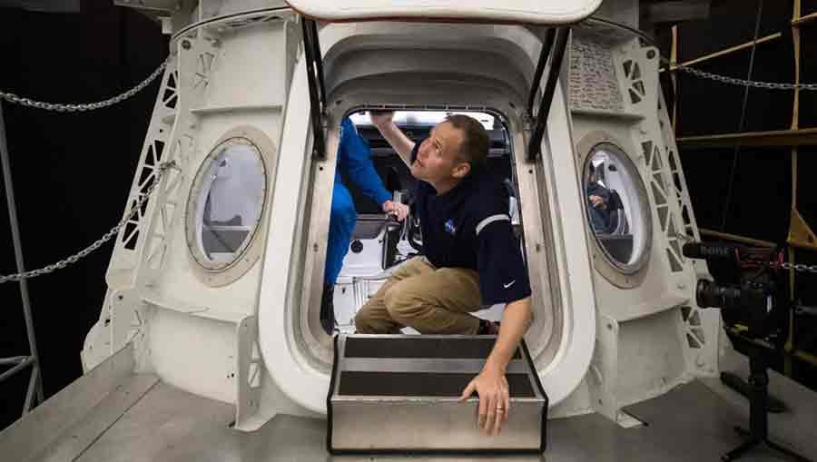 Capsule crew dragon SpaceX