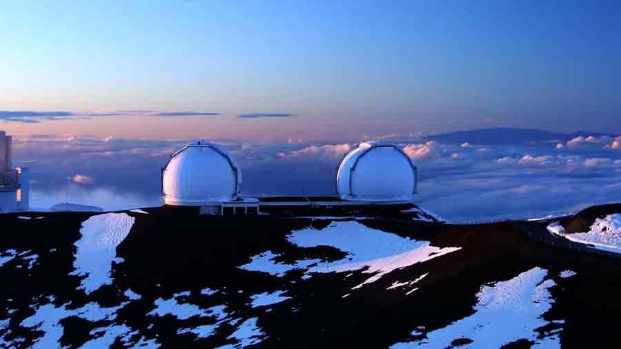Galaxie Manau Kea à Hawaï