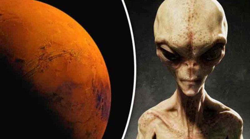 Extraterrestres Mars